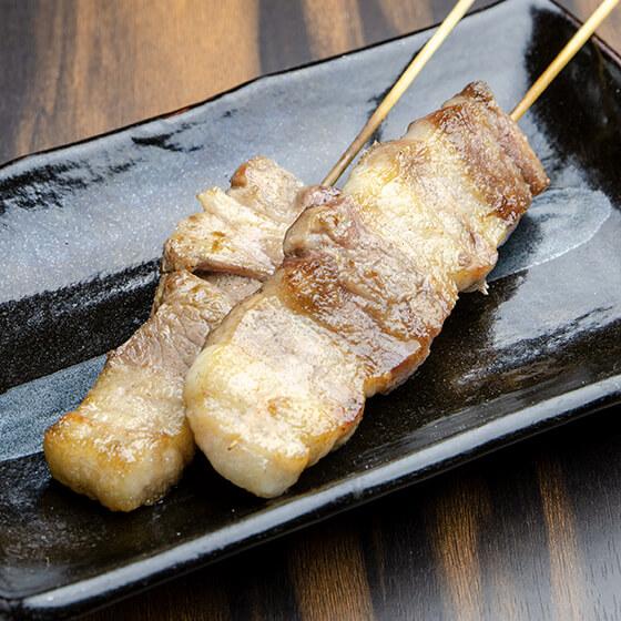 道産豚バラ串(1本)