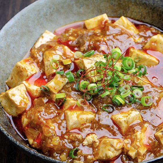 やまぐち豆腐の四川麻婆豆腐
